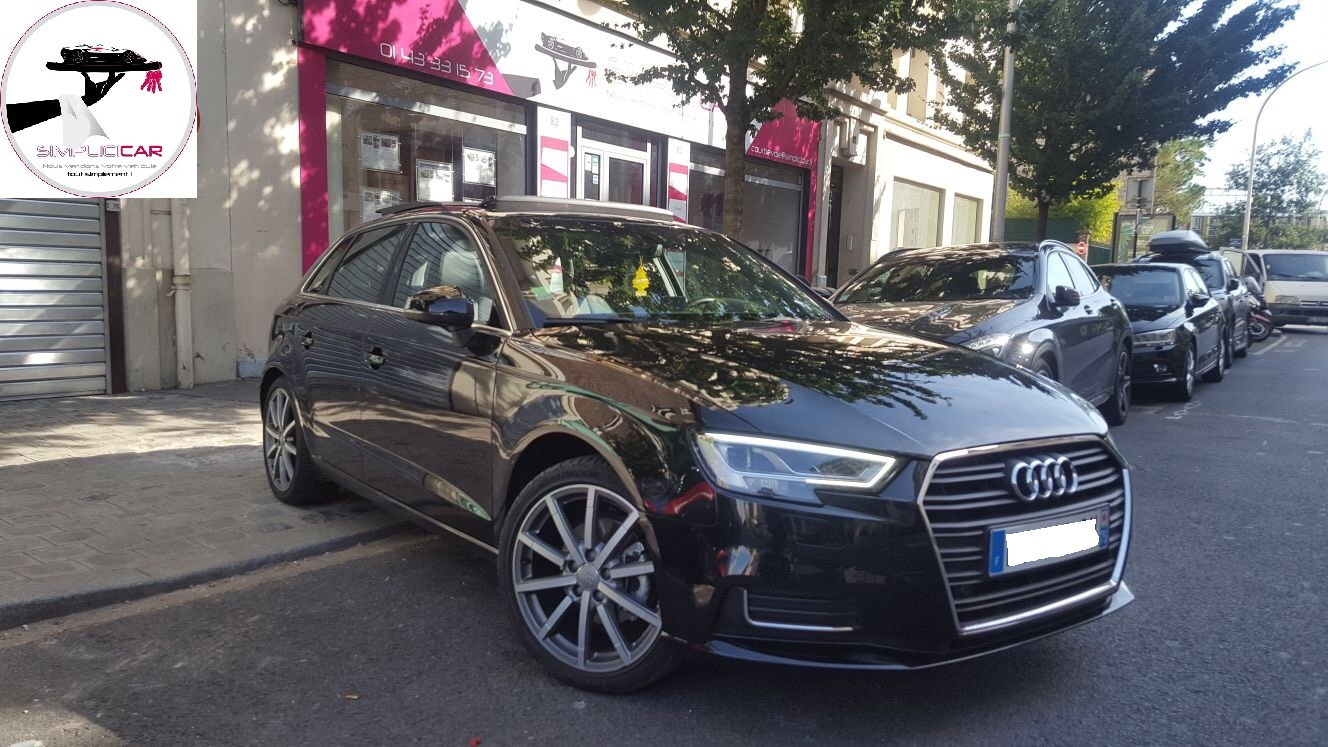 voiture audi s3 sportback 2 0 tfsi 300 quattro s tronic 6 occasion essence 2014 25000 km. Black Bedroom Furniture Sets. Home Design Ideas