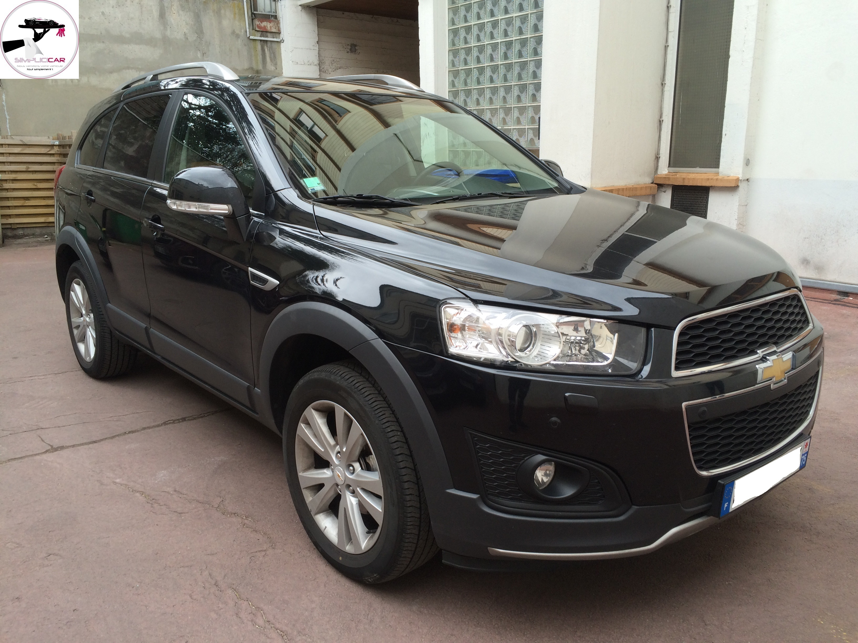 voiture chevrolet captiva 2 2 vcdi 163 s s lt occasion diesel 2013 74400 km 16990. Black Bedroom Furniture Sets. Home Design Ideas